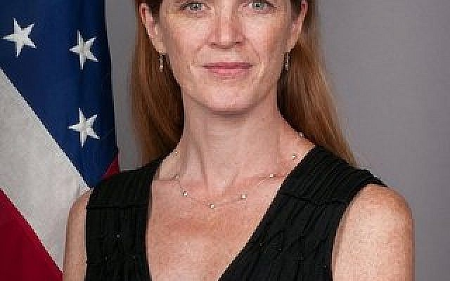 "U.S. Ambassador Samantha Power calls for an end to ""every assault on personal dignity."""