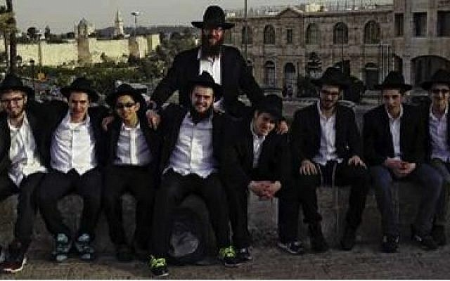 Thanks to student Yaakov Katz's inspiration and his classmates' hard work, students at Yeshiva Boys High School spent 10 days in May visiting Israel. (Yeshiva Schools photo)