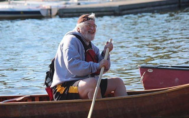 Rabbi Chuck Diamond still enjoys his summertime visits to Camp Ramah. (Photos provided by Rabbi Chuck Diamond)