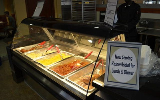 Students at the University of Pittsburgh can now enjoy hot kosher food. (Photos provided by Pitt Dining Services)