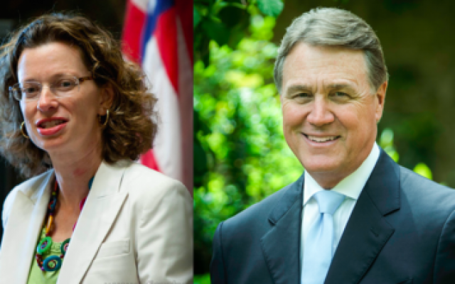 Michelle Nunn and David Perdue are in a heated race for the U.S. Senate in Georgia. (Photo provided by Corporation for National and Community Service and Palmetto Crescent via Wikimedia Commons)