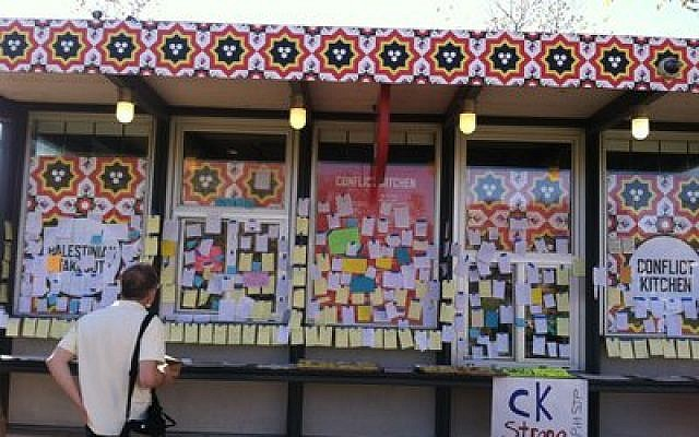 Conflict Kitchen, which has caused much controversy, was forced to shut down recently because of a death threat. (Photo provided by Toby Tabachnick)