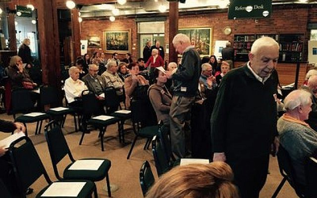 """The """"Jewish Life in Western Pennsylvania"""" event brought presenters and archivists together to weave a tale of the region's Jewish history. (Photo provided by Bee Schindler)"""