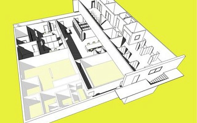 Holocaust Center perspective (Rendering provided by Springboard Design)