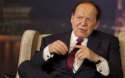 Sheldon Adelson hasn't tipped his hand as far as his GOP presidential support. (Photo provided)