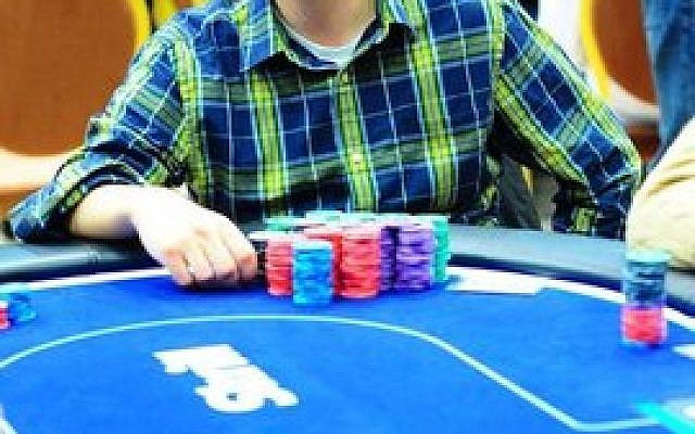 Ari Engel's favorite game is Texas Hold 'Em, where buy-ins can reach $10,000. (Photo by Tomas Stacha)