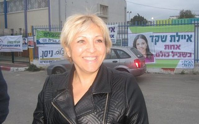 Anett Haskia fared poorly in the Jewish Home primary, but she says party voters embraced her despite her background. (Photo by Ben Sales)