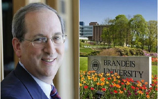 Frederick Lawrence will end his tenure as Brandeis president this summer. (Photo provided by JTA)