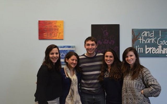 Student leaders at Hillel-JUC are busy planning activities on campus showcasing Israel's culture and diversity. (Photo provided by Hillel-JUC)