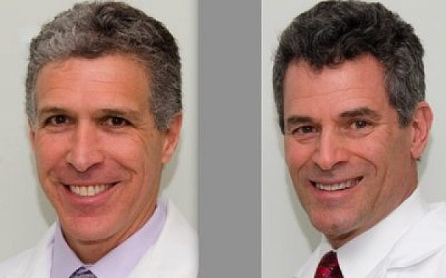 Marc Adelsheimer, left, and Dr. Paul Lieber (Photos by Spencer Lieber)