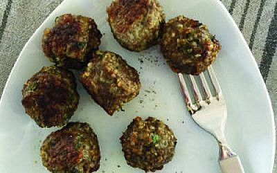 Beef and Quinoa Meatballs