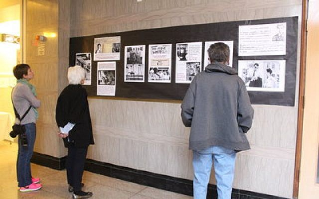 Photographs of the Freedom Summer campaign accompanied a recent presentation at Rodef Shalom Congregation.