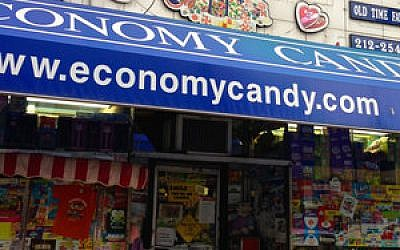Economy Candy as it looks today. (Photo by Debra Nussbaum Cohen)