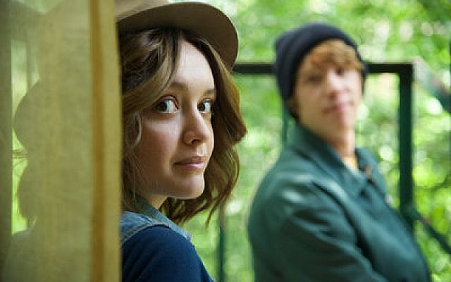 "Olivia Cooke and Thomas Mann play Rachel Kushner and Greg Gaines in the film adaptation of ""Me and Earl and the Dying Girl."" (Photo by Anne Marie Fox)"
