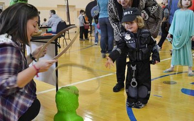 More than 700 attended the South Hills Community Purim Carnival on March 8 at the South Hills JCC. (Photo provided)