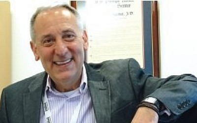 """Hillel CEO Eric Fingerhut: """"All the BDS referendums that went for a full vote were defeated. Not a single one passed."""" (Photo by David Holzel)"""