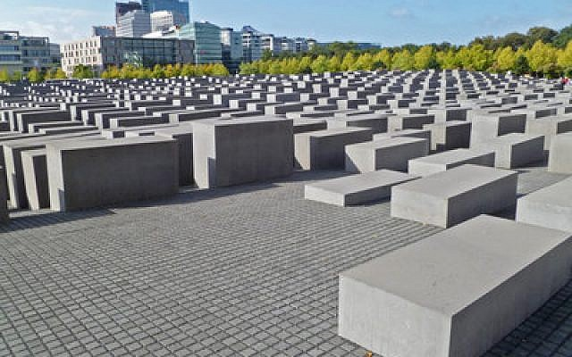This Memorial to the Murdered Jews of Europe was designed by architect Peter Eisenman. (Photo provided by commons.wikipedia.org)