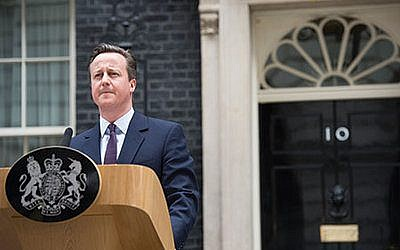 Prime Minister David Cameron. (Photo provided)