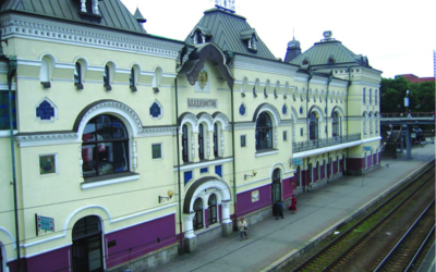 The Vladivostok train station is the last stop on the Trans-Siberian Railway. (Photo provided)