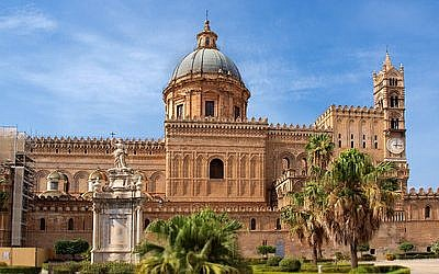 Palermo Cathedral embraces the best of all architectural styles of medieval Sicily, Romanesque, Arab, Norman and Byzantine.	 (Photo by Alex Shaland)