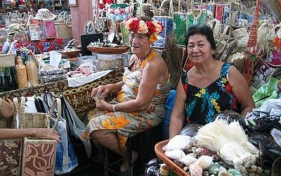 The marketplace in Papeete, Tahiti is a combination of great food and vibrant colors. (Photo by Ben G. Frank)
