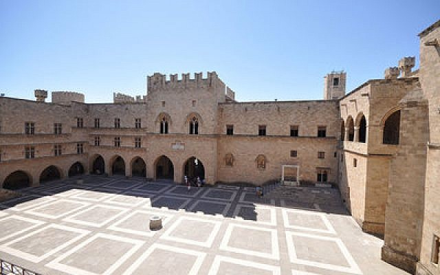 The Palace of the Grand Master of the Knights of Rhodes hosted this year's concert, which attracted more than 500 people. (Photo provided by Wikimedia Commons)