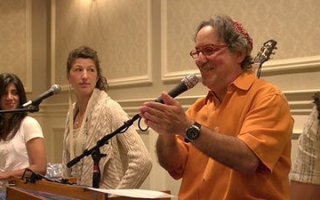 "Rabbi Andrew Hahn says his latest CD is ""very music forward."" (Photo provided)"