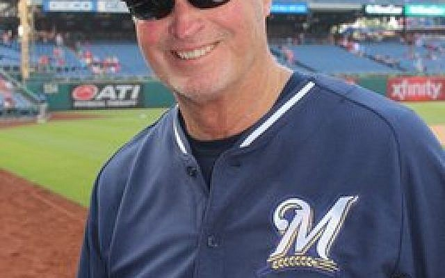Jerry Narron, a coach for the Milwaukee Brewers and twice a major league manager, brings decades of experience to Israel's national team. (Photo by Hillel Kuttler)