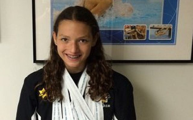 Pittsburgh's own Maddie Dorish swam away with 12 medals. (Photo provided)