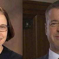 Judge Alice Dubow and Justice David Wecht
