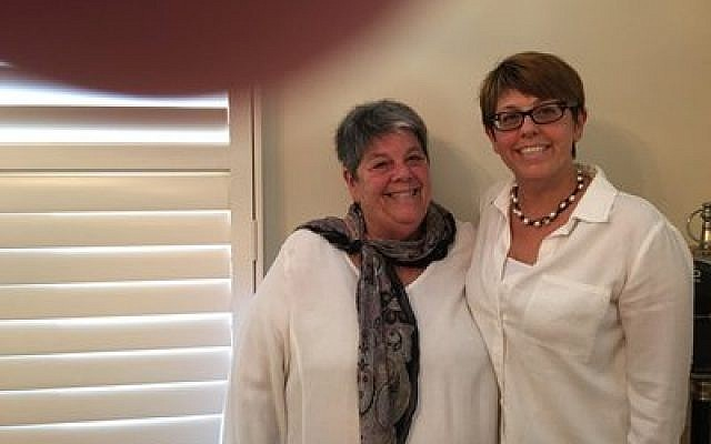 Gail Ryave (left) and Sharon Ryave Brody (Photo provided by N'AMAT)