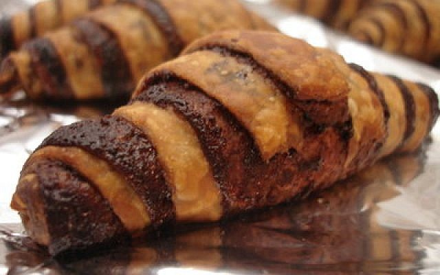 """The best thing about rugelach, according to one pastry chef, is that they are easy to prepare and can be filled with """"whatever you like."""" (Photo by Yair Rand)"""