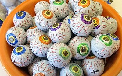 Creepy Peepers are among a slew of Halloween candies that are certified kosher. (Photo by Edmon J. Rodman)