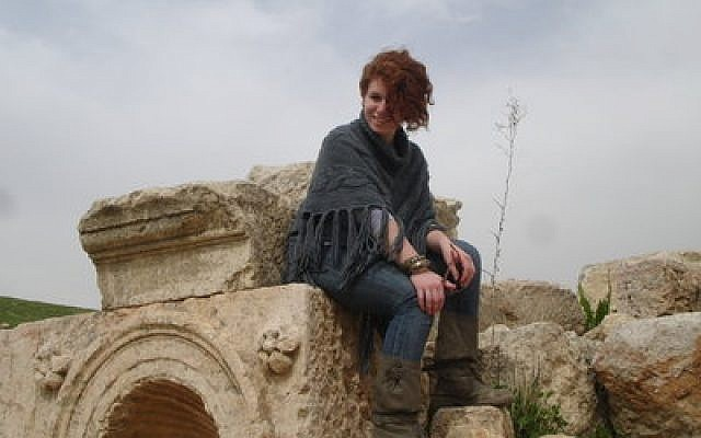 Natalie Stewart's introduction to the Middle East began when she was 16, and her interest eventually led her  to Amman. (Photo by Debbie Berkovitz)