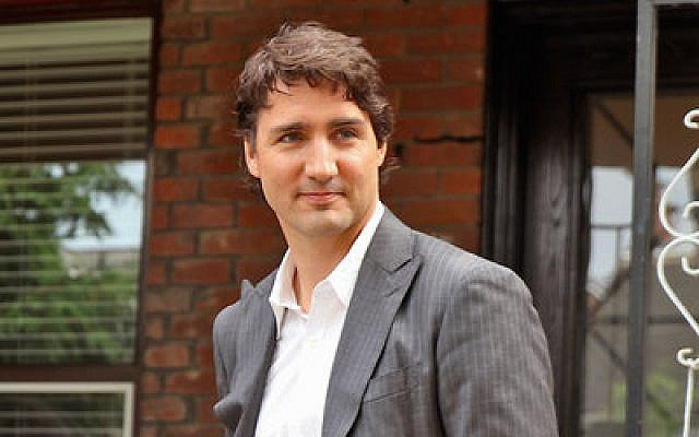 Justin Trudeau, Canada's prime minister-designate, is expected to bring a less strident tone than his predecessor in his support for Israel. (Provided by Flickr Commons)