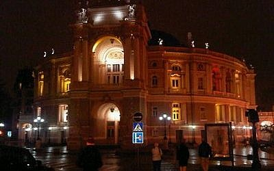 Odessa's Opera House is a famous and much-loved landmark. (Photo by Michael Geller/JDC)