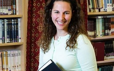 Lila Kagedan is the first graduate of Yeshivat Maharat to use the title rabbi.  Photo courtesy of Lila Kagedan