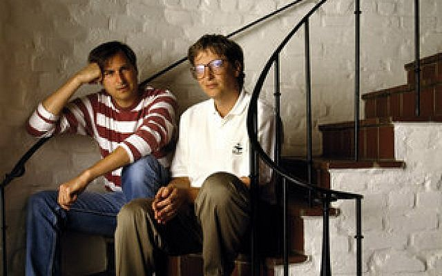 George Lange's photo of Steve Jobs and Bill Gates
