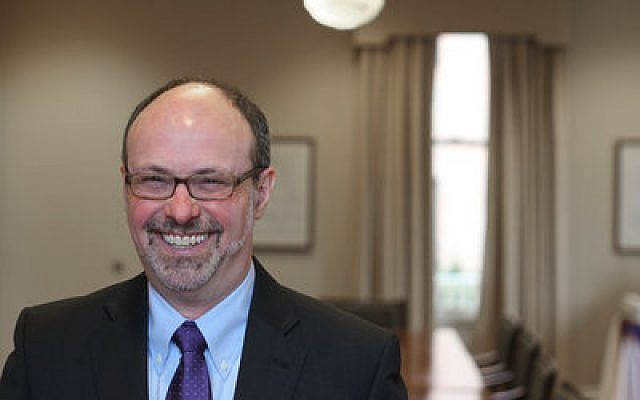 David Finegold can't wait to get started as Chatham's new president. Photo courtesy of Chatham University