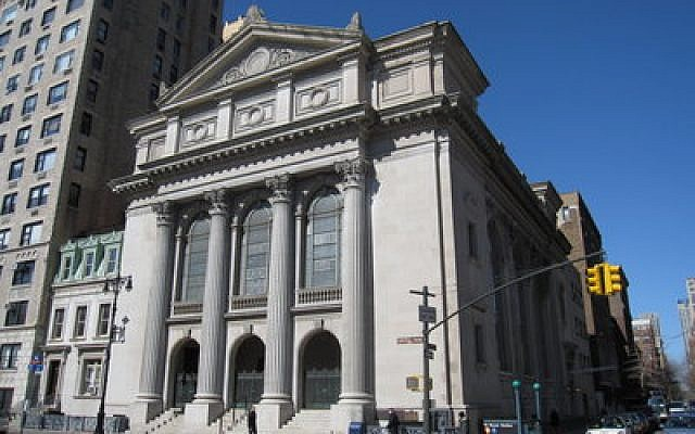 Shearith Israel, the oldest congregation in North America, is renovating its community house and converting part of the building to condos.   Photo by Gryffindor/Wikimedia Commons