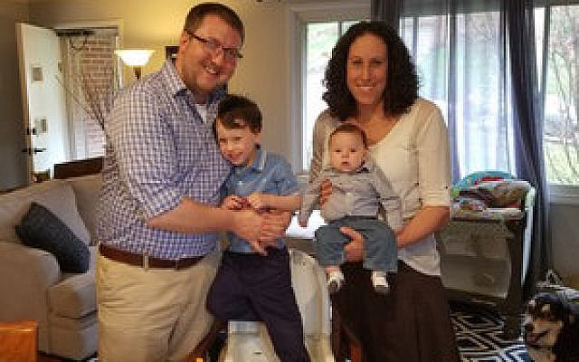 Erin Herman with her husband, Chris, and sons Riley and Asher. Photo provided by Erin Herman