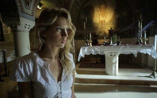 "A scene from the Israeli horror film ""JeruZalem""  Photo courtesy of ""JeruZalem"""