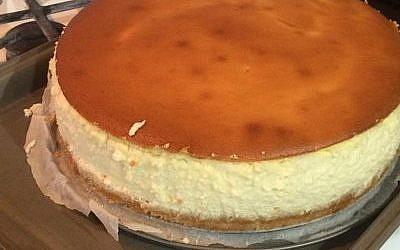 Etti Martel's cheesecake has an Israeli flair.   Photo courtesy of Etti Martel