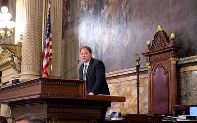 Israeli consul general addresses state House of Representatives Photo courtesy of Consulate General of Israel to the Mid-Atlantic Region