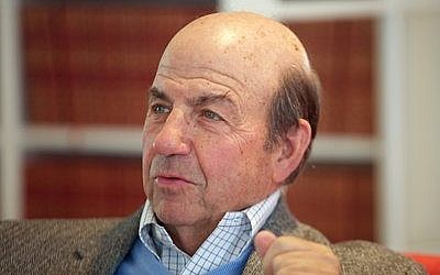 Calvin Trillin says Judaism impacted his humor writing, and he first realized he was funny in Hebrew school.  Photo by Richard Stamelman