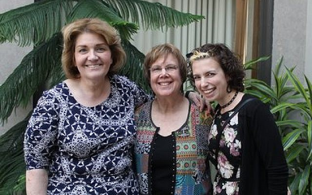 Staff of the former PAJC from left: Karen Hochberg, Susan Simons and Bari Morchower Photo courtesy of Karen Hochberg