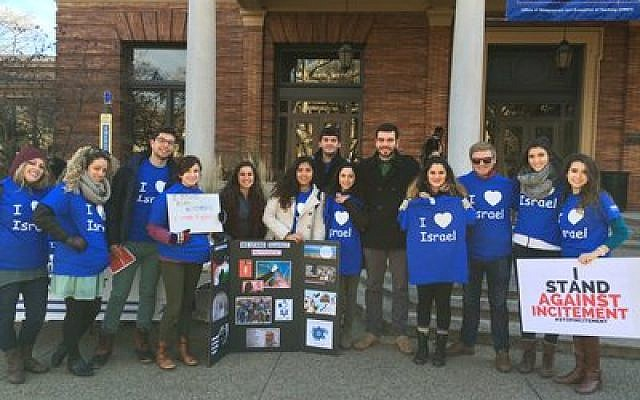 A recent Israel on Campus Coalition report showed that pro-Israel events outnumbered anti-Israel events on campus last year by 3 to 1. Photo by Toby Tabachnick