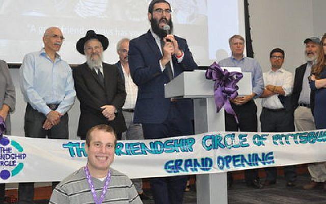 Rabbi Mordy Rudolph Photo by Adam Reinherz