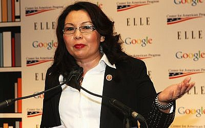 Rep. Tammy Duckworth of Illinois, an Iran deal backer, defeated Mark Kirk to win  his Senate seat.   Photo by Bennett Raglin/Getty Images for Elle
