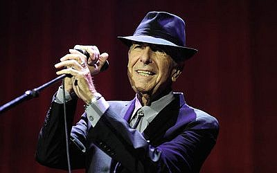 Leonard Cohen had just released an album last month.  Photo by Brian Rasic/Getty Images